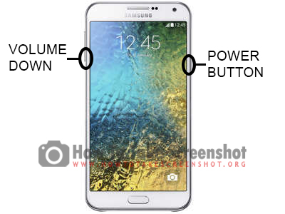 How to Take Screenshot on Samsung Galaxy E7