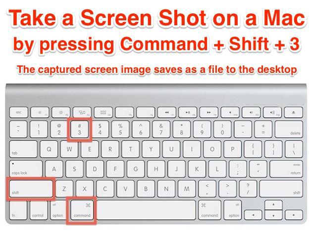 How to take Screenshot on MacBook Air