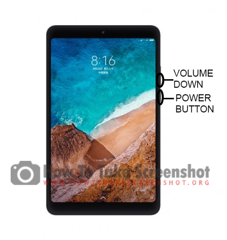 How to Take Screenshot on Xiaomi Mi Pad 4