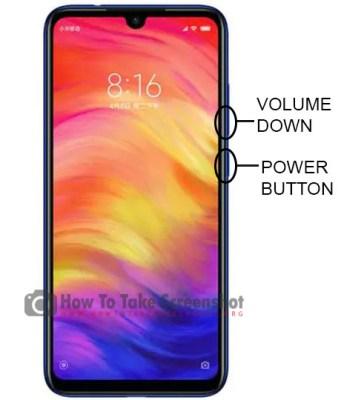 How to Take Screenshot on Xiaomi Redmi Note 7 Pro