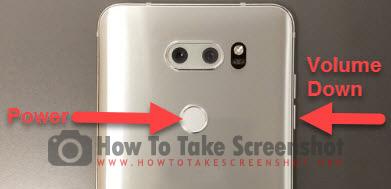 How to take Screenshot on LG V30