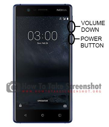 How to Take Screenshot on Nokia 3