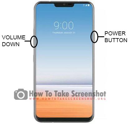 How to Take Screenshot on LG G8 ThinQ