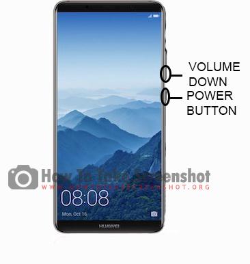 How to take Screenshot on Huawei Mate 20