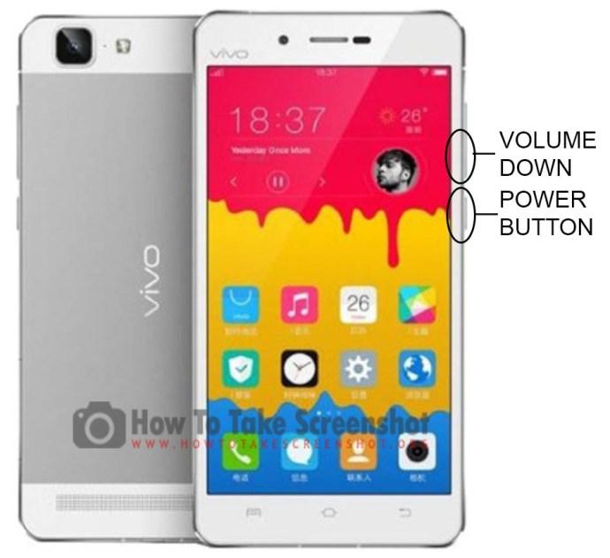 How to Take Screenshot on Vivo X5