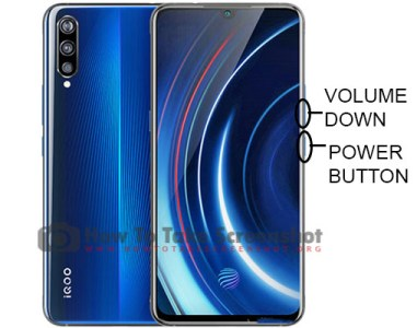 How To Take Screenshot on Vivo IQOO