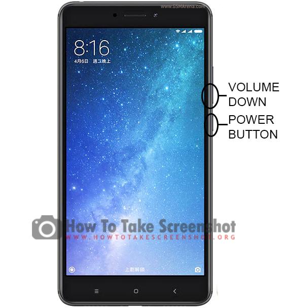 How to Take Screenshot on Xiaomi Mi Max 2