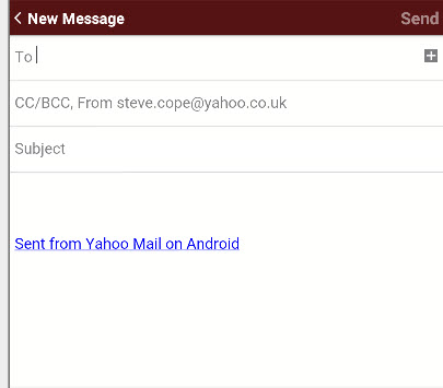 Yahoo-android-new-message