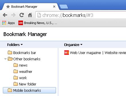 chrome-bookmarks-sync