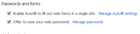 chrome-password manager