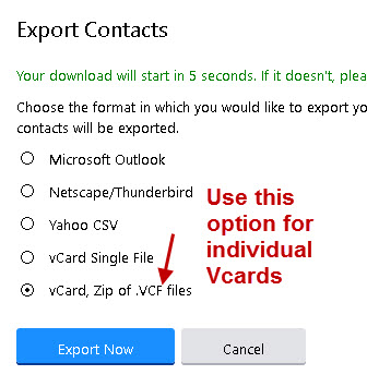 create-vcards-Yahoo