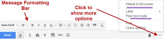 gmail-message-formatting