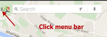 google-maps-offline-menu