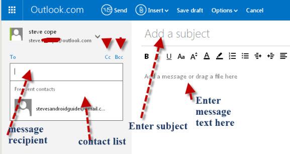outlook.com-new-message-form