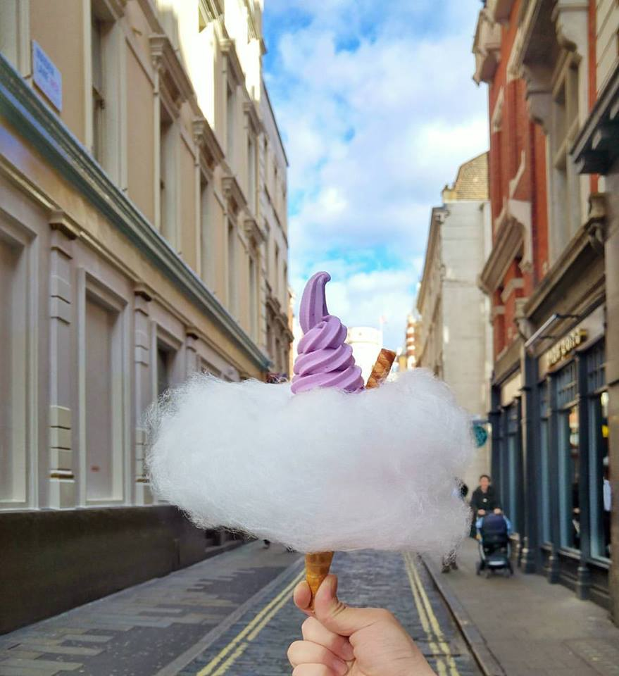 Cloud Cones Are The Biggest Dessert In London Right Now
