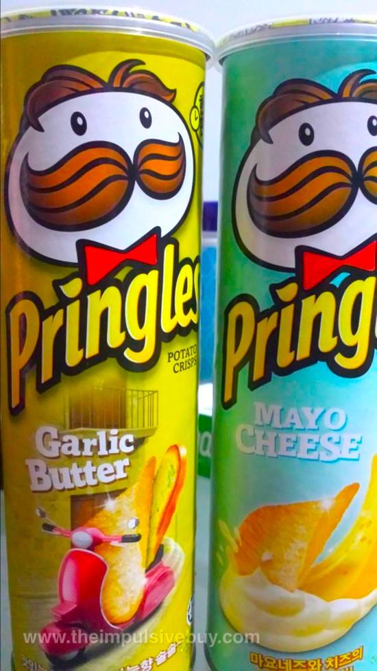 Different Types Of Pringles : different, types, pringles, Weirdest, Pringles, Flavors, Invented: