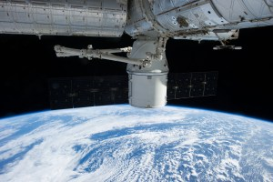 Dragon docked to ISS