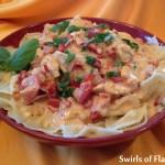 Creamy Tomato Basil Chicken & Pasta