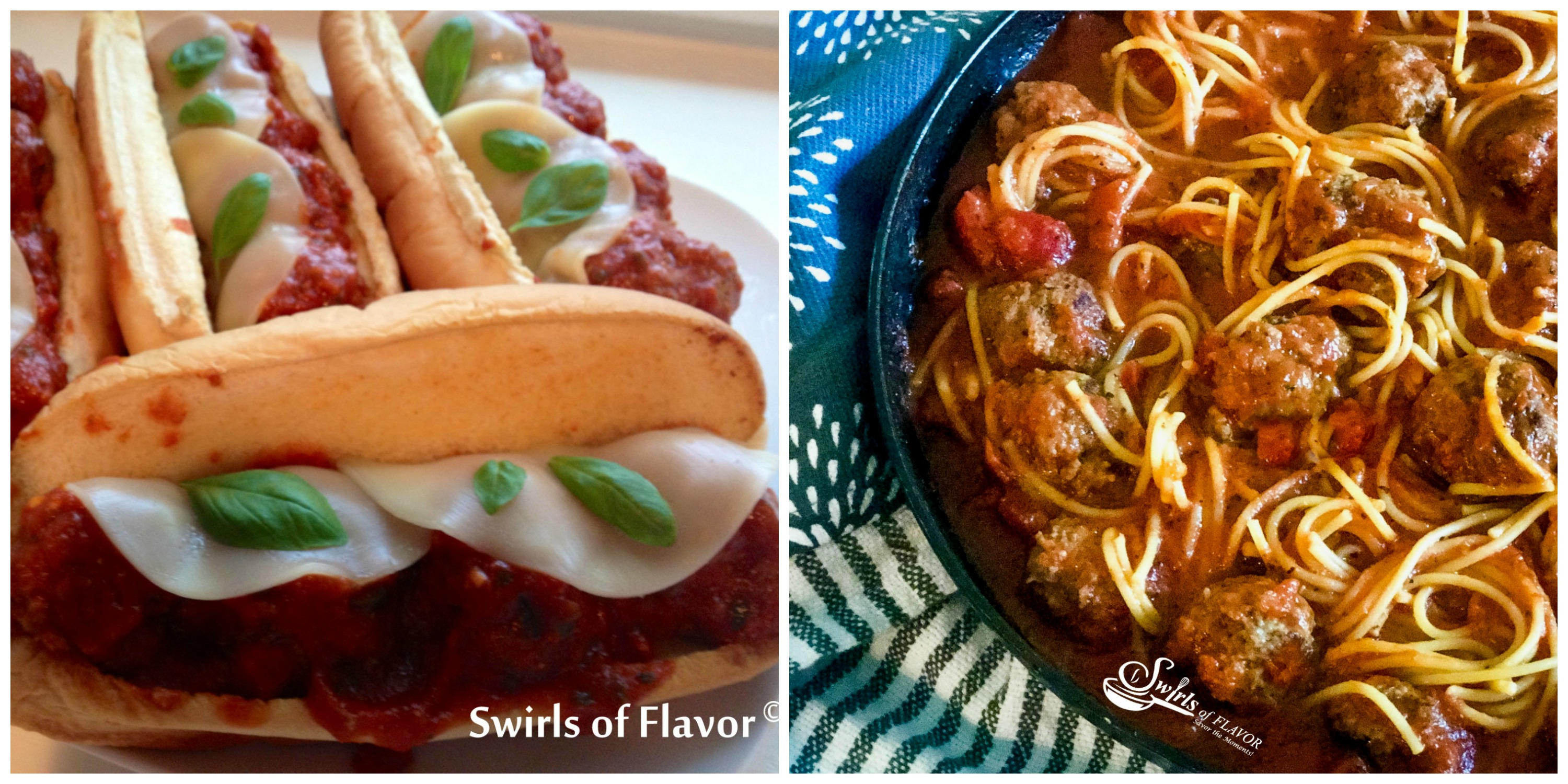 Meatball Heroes and One Pot Spaghetti and Meatballs