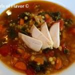 Quinoa Lentil Broth Bowl