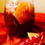 Pomegranate Bourbon Punch