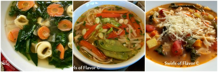 Chicken Soup just got a facelift! The fresh clean flavors of garlic, fresh ginger and lime and the buttery creaminess of chunks of avocados come together to create Avocado LimeChicken Soup, a new comfort soup favorite! #homemadesoup #Soup #Avocado #Chicken #ChickenSoup #Under30Minutes #swirlsofflavor #easyrecipe #whole30