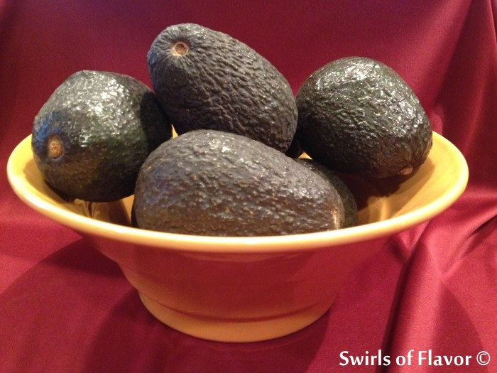 Avocados in bowl