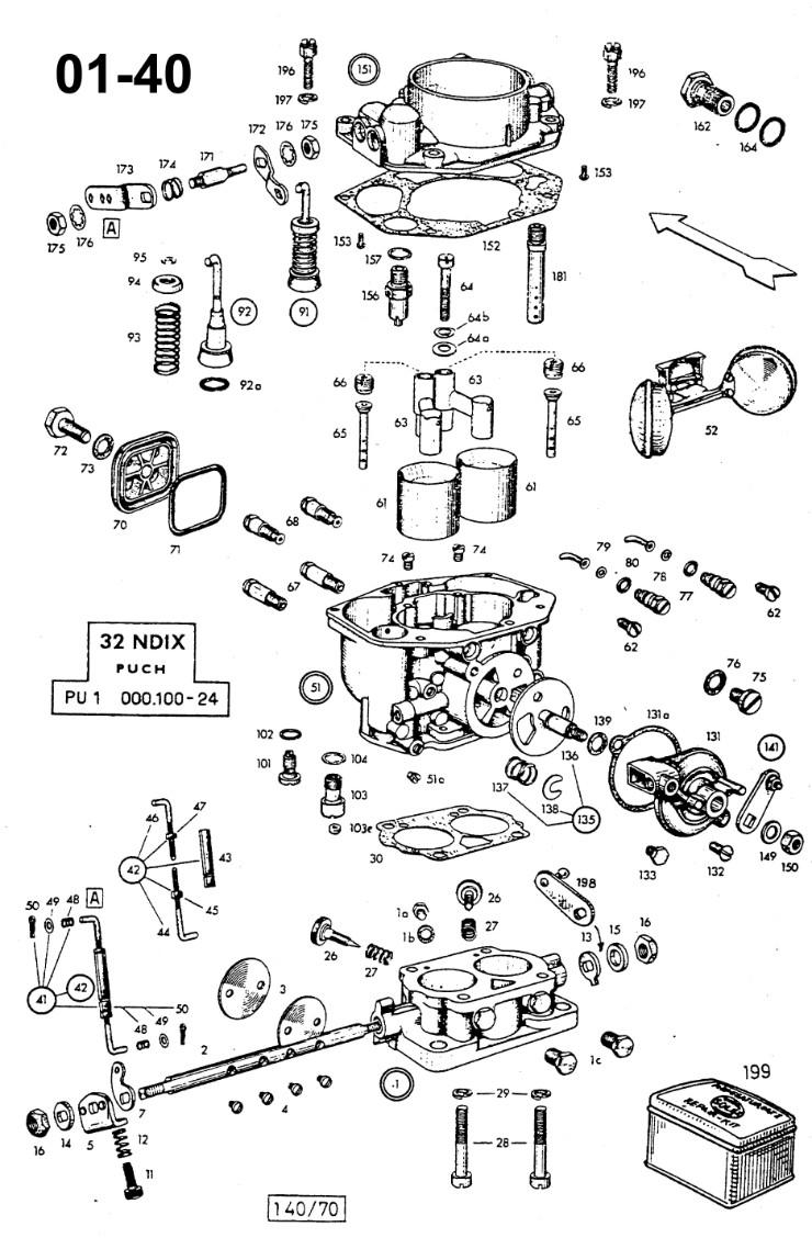 medium resolution of pump pressure valve carb zenith ndix 32
