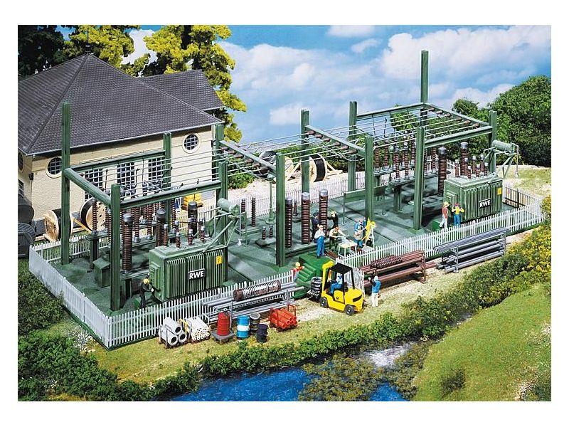 Faller 130958 Umspannwerk Transformer Station H0