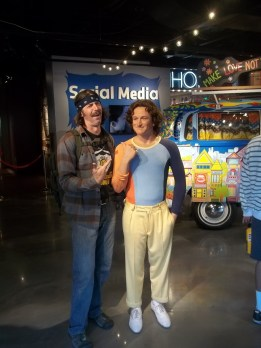 Meeting the famous at the Wax Museum