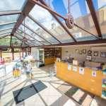 Swiss Farm - reception / shop