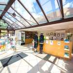 Swiss Farm - reception / shop