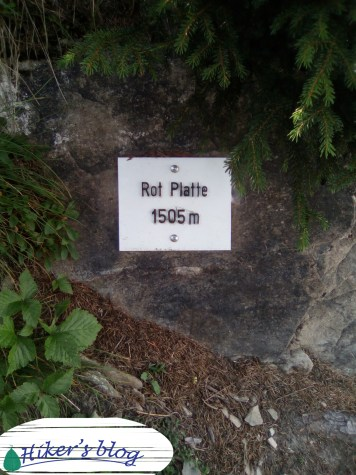 Rote Platte