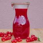 Homemade Red Currant Syrup