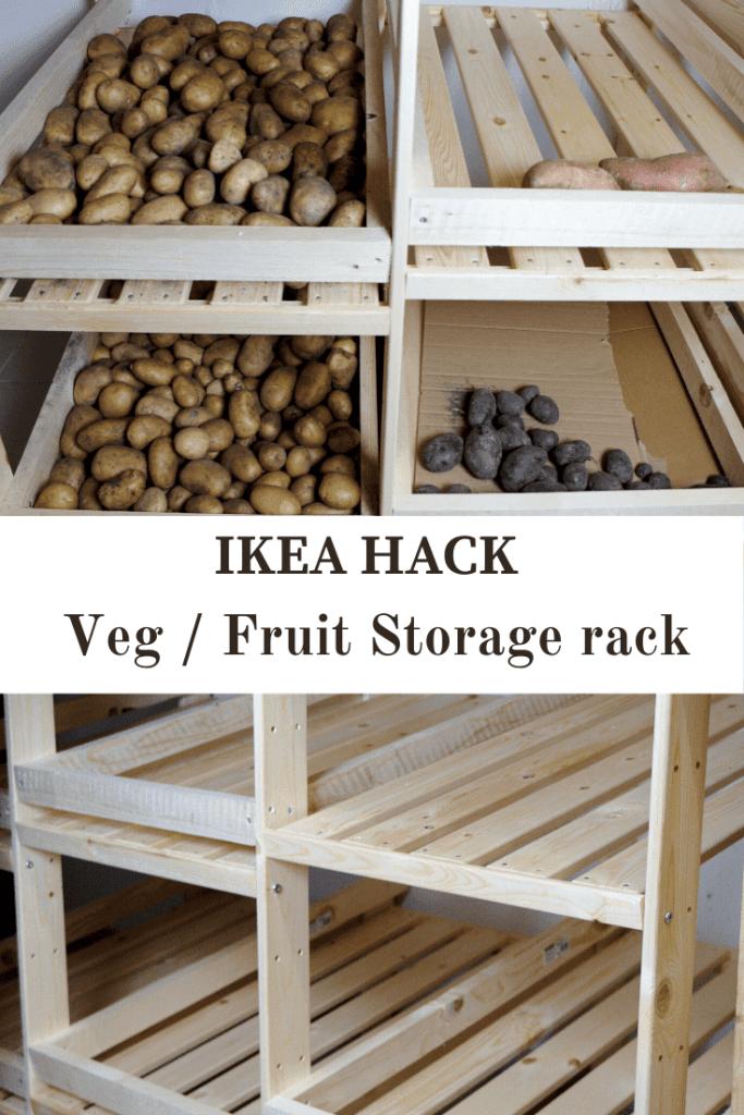 IKEA Hack for Vegetable Storage