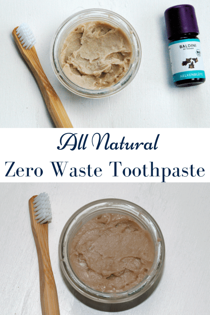 All natural zero waste toothpaste