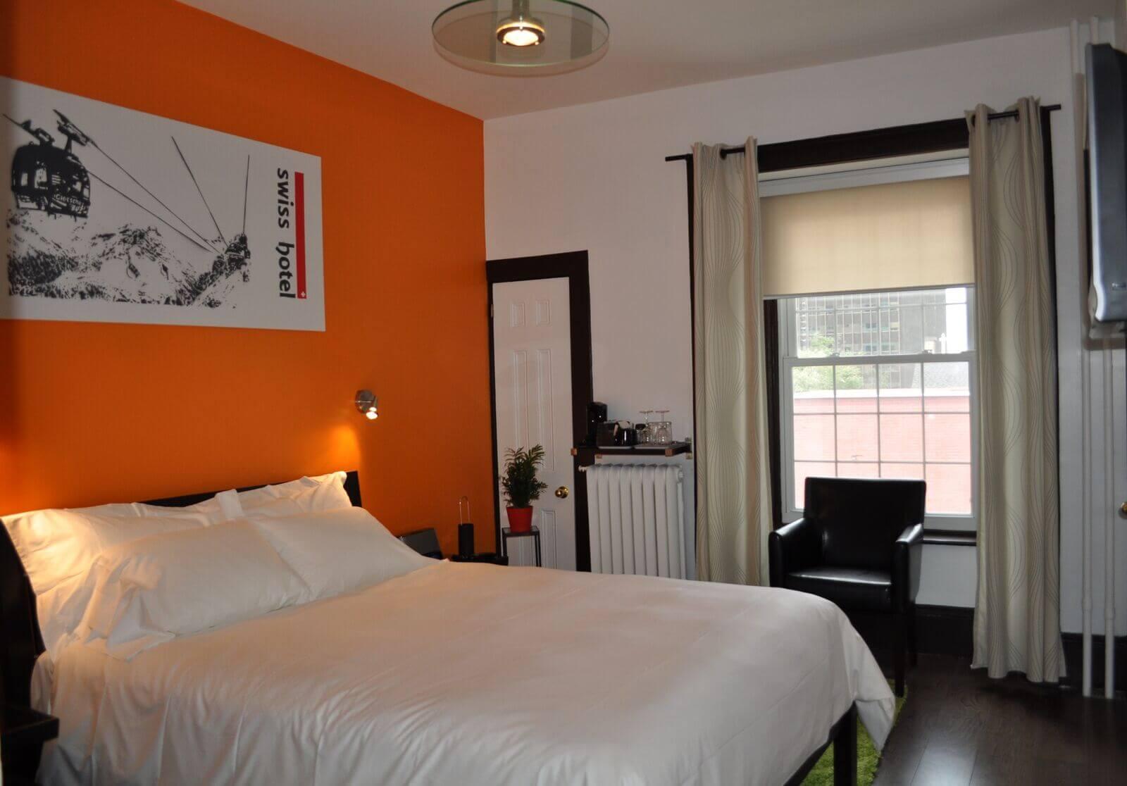 Standard Queen  Queen Bed  Swiss Hotel