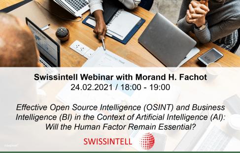 Swissintell Webinar - Morand H. Fachot