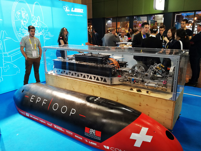 EPFloop - hyperloop