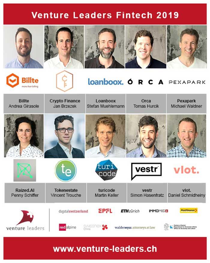 Venture leaders 2019 - Hong Kong Fintech week