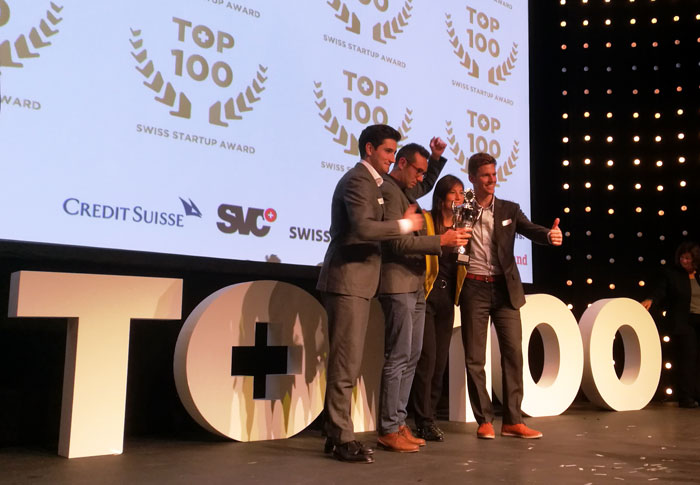 Top 100 Swiss startup Award 2019