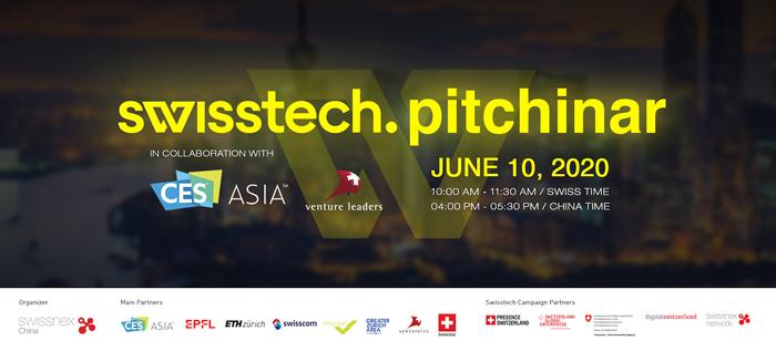 CES ASIA - swisstech pitchinar 10 juin 2020