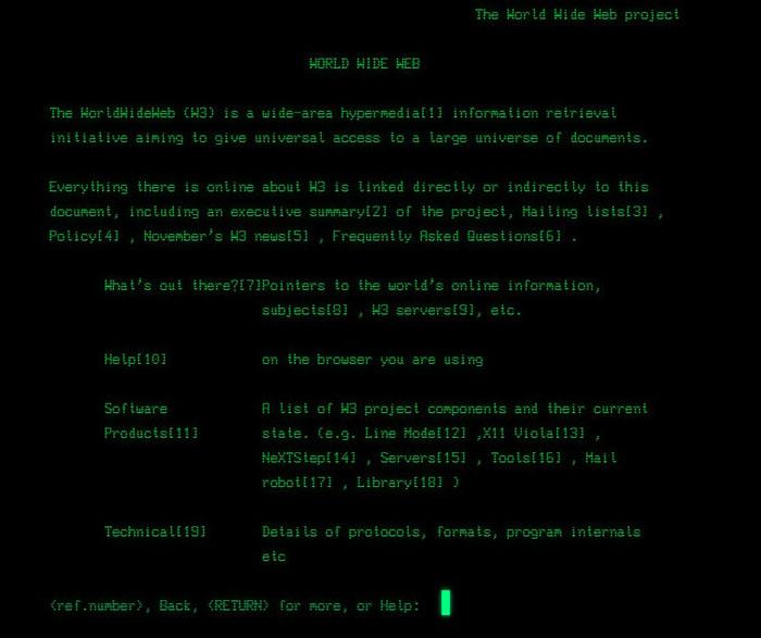 web - HTML - Berners-Lee