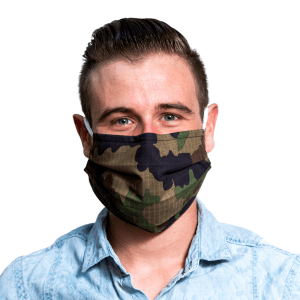 PACK 4 MASKS - GREEN CAMOUFLAGE (LIMITED EDITION)
