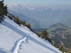 View from Liestkamm ridge in Mai