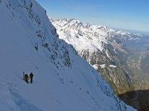 In the Bristen North Face