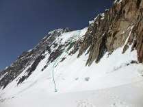 Galenstock Descent from North Ridge