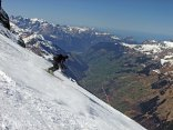 Mauri downhill to Klausenpass