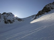 North slope of Büelenhorn