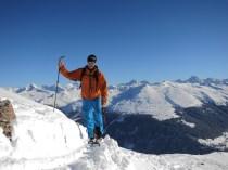 Uphill in the ridge